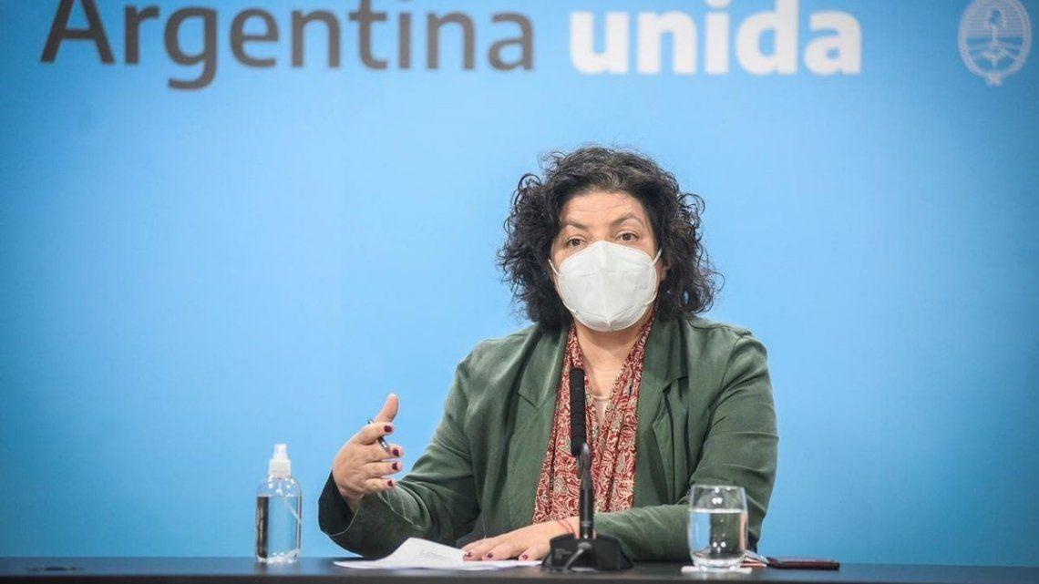 Vizzotti formuló la denuncia contra el exSecretario de Salud y otros funcionarios del macrismo.
