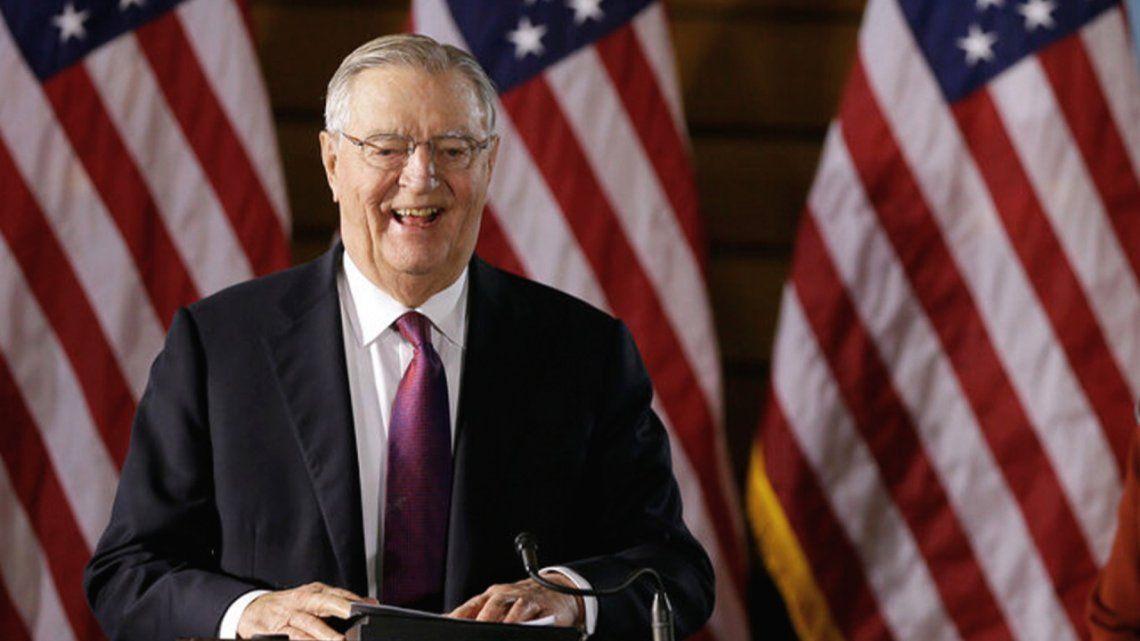 Mondale fue vicepresidente del demócrata Jimmy Carter entre 1977 y 1981
