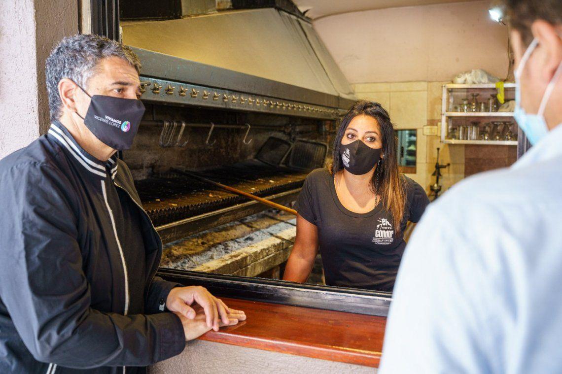 Vicente López dará un apoyo económico a más de 600 comercios