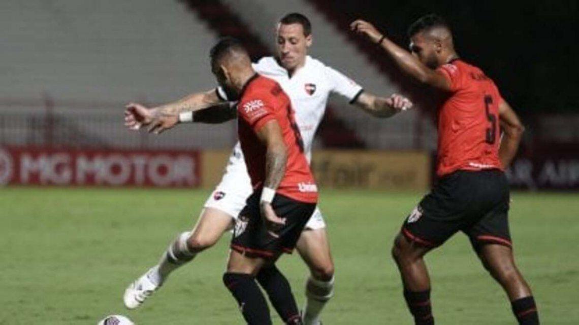Newell´s empató sin goles en su debut dentro de la Copa Sudamericana
