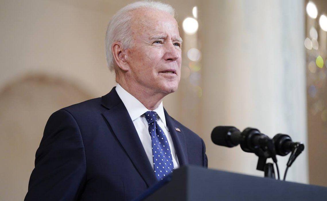 Joe Biden llamó a aprobar la ley George Floyd que busca reformar el sistema policial estadounidense.