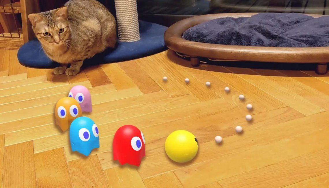 Google le da vida a Pac-Man y Evangelion con su Realidad Aumentada