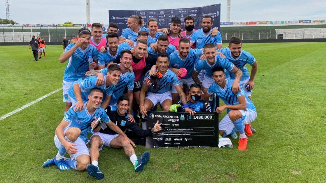 Estudiantes de Río Cuarto avanza en la Copa Argentina