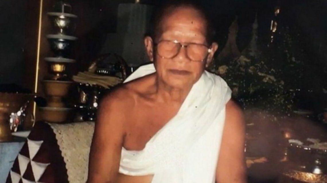 Tailandia: monje budista.