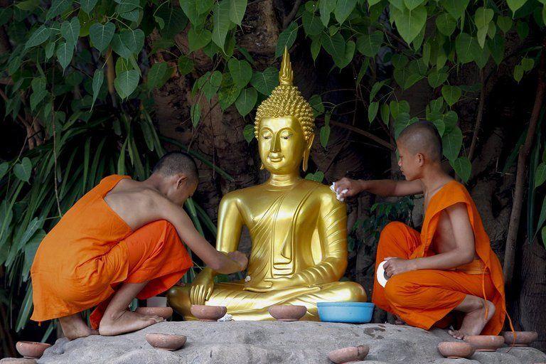 Tailandia: monje budista se decapitó.