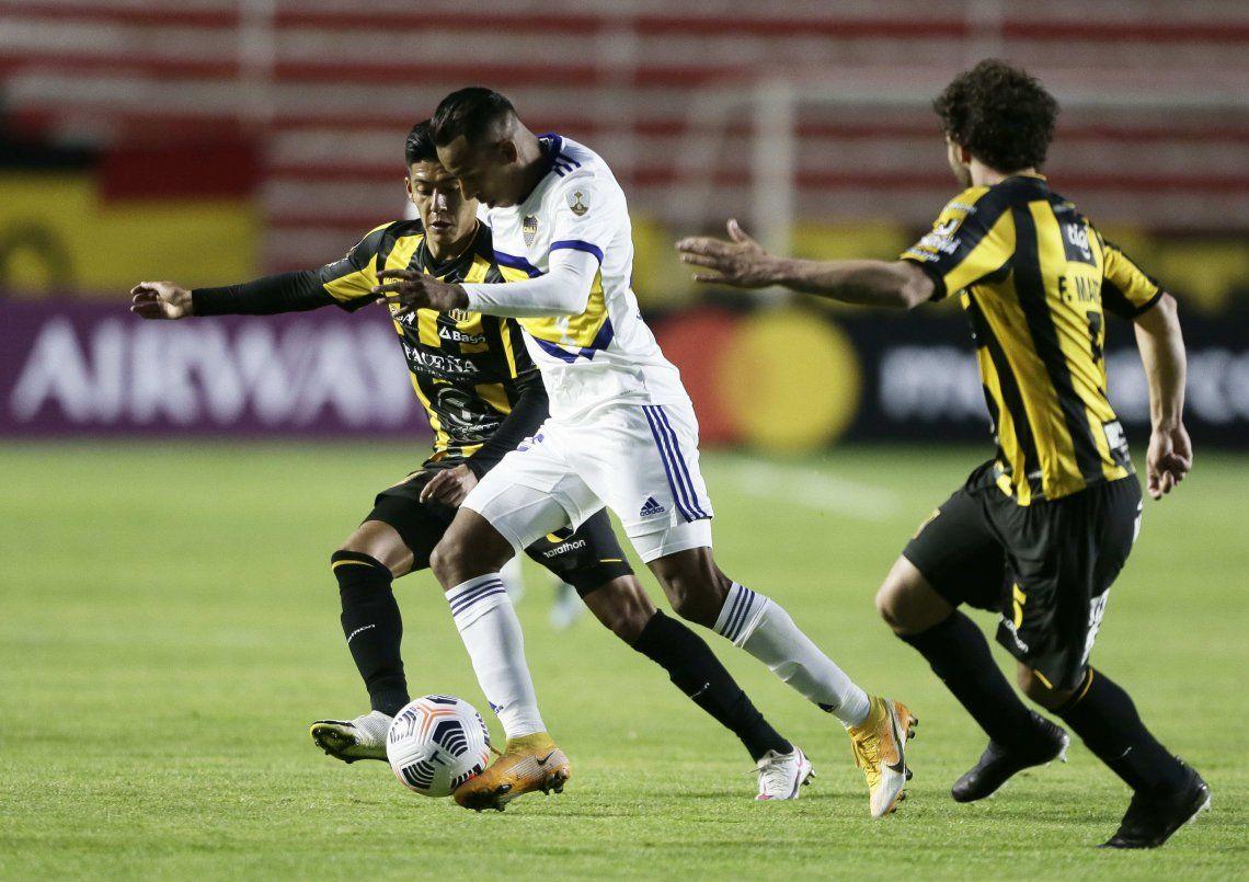 Sebastián Villa marcó el gol del triunfo de Boca Juniors