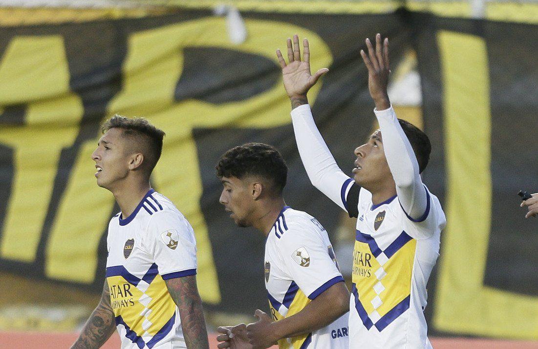 Villa fue la figura de Boca y marcó el único gol.