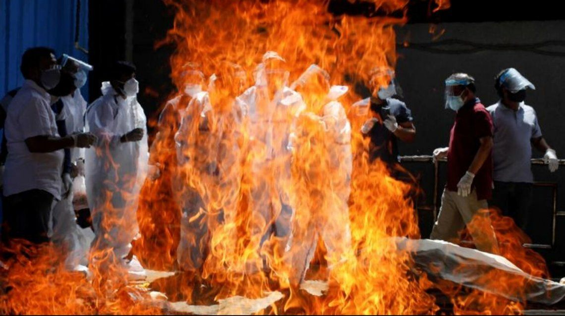India: crematorios desbordados.