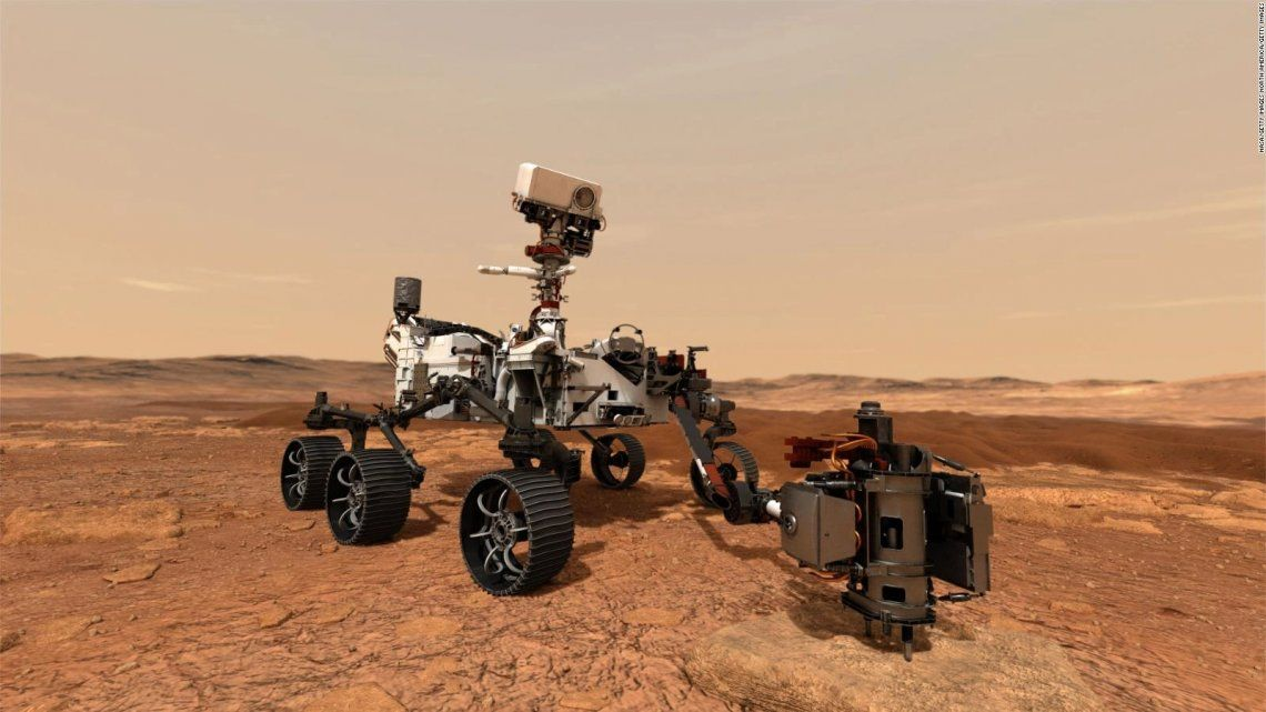 Marte: el Perseverance transformó dióxido de carbono en oxígeno