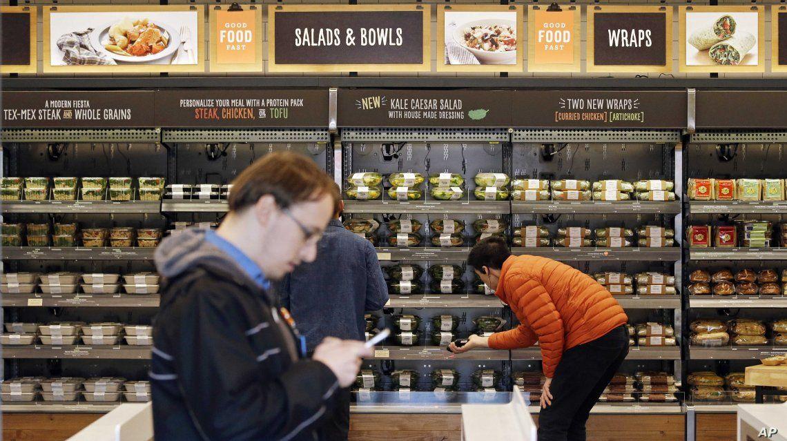 Amazon abrirá tiendas Whole Foods sin cajeros