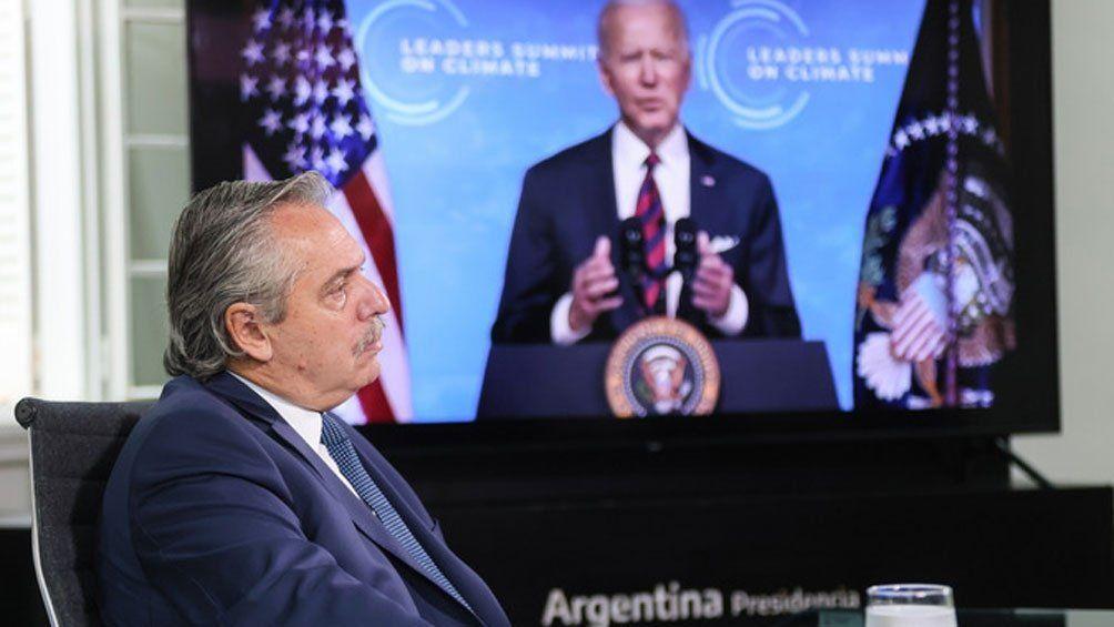Fernández en la Cumbre sobre el Clima: Es ahora o nunca, nadie se salva solo