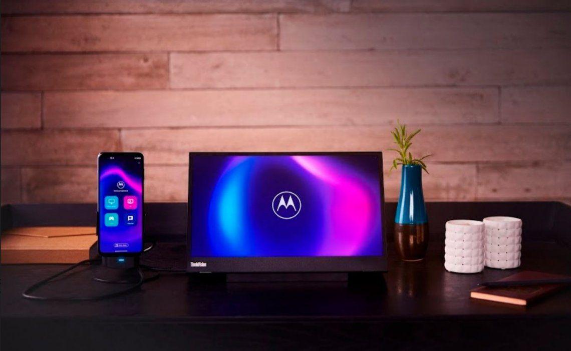 Motorola lanzó Ready For, su nueva plataforma para maximizar la potencia del móvil