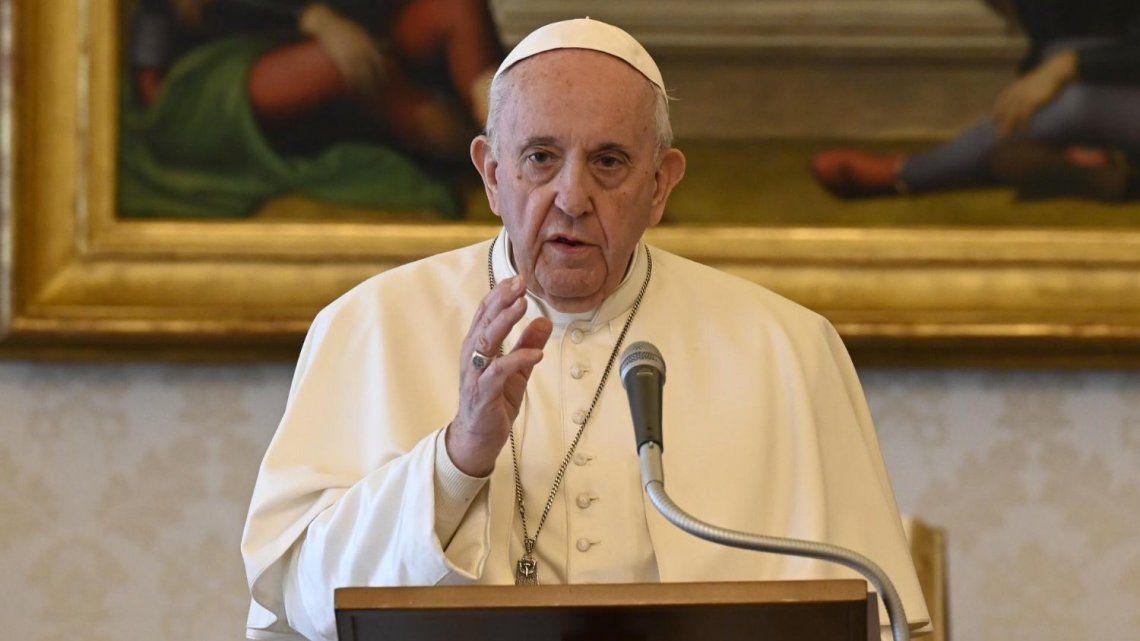 Francisco instó a cuidar la Tierra del cambio climático