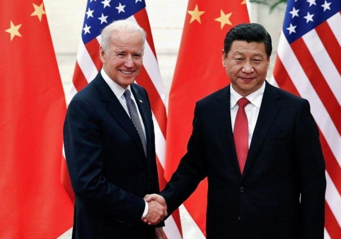 Joe Biden y Ji Xinping
