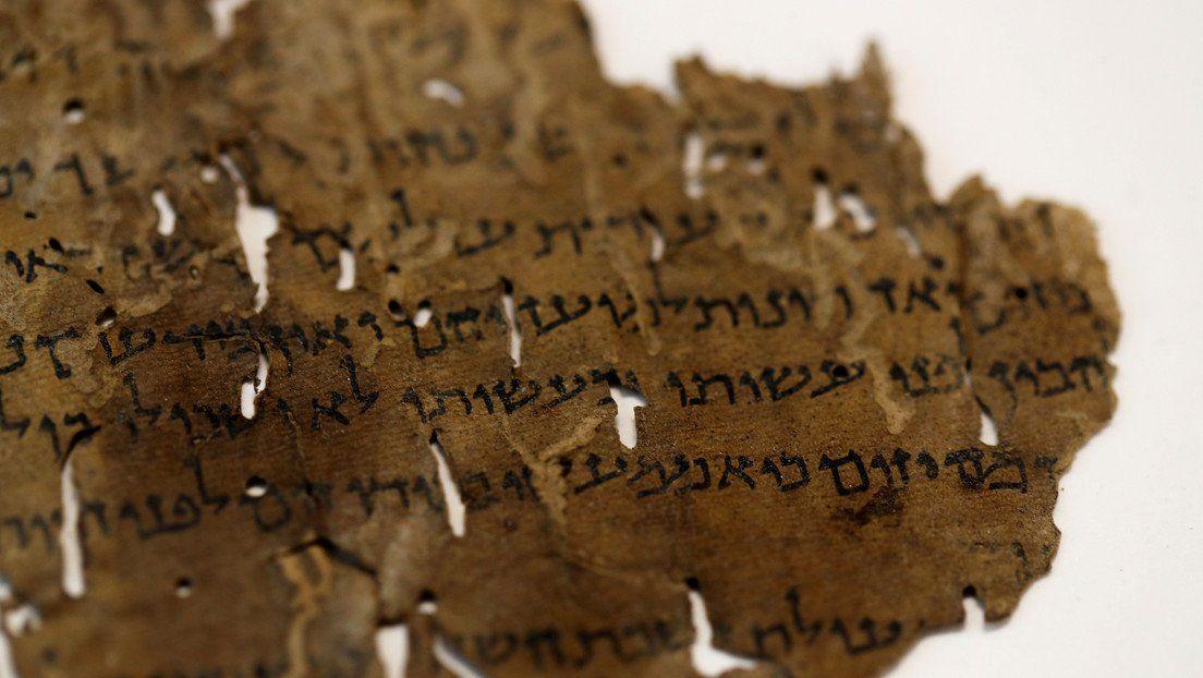 La inteligencia artificial develó misterio de los Manuscritos del Mar Muerto