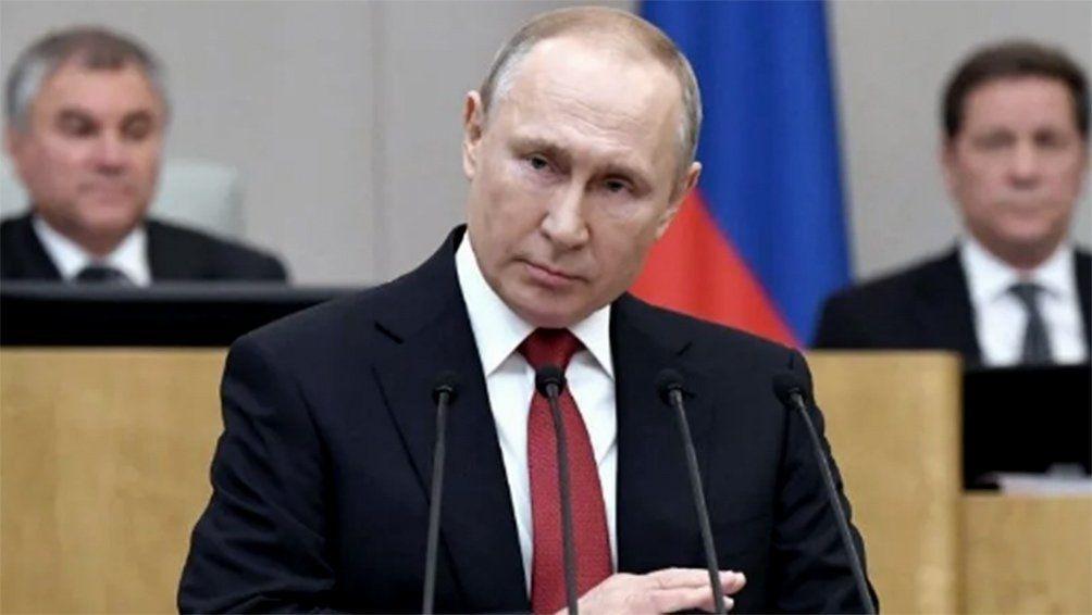 Putin tomó medidas para frenar el coronavirus en Rusia.