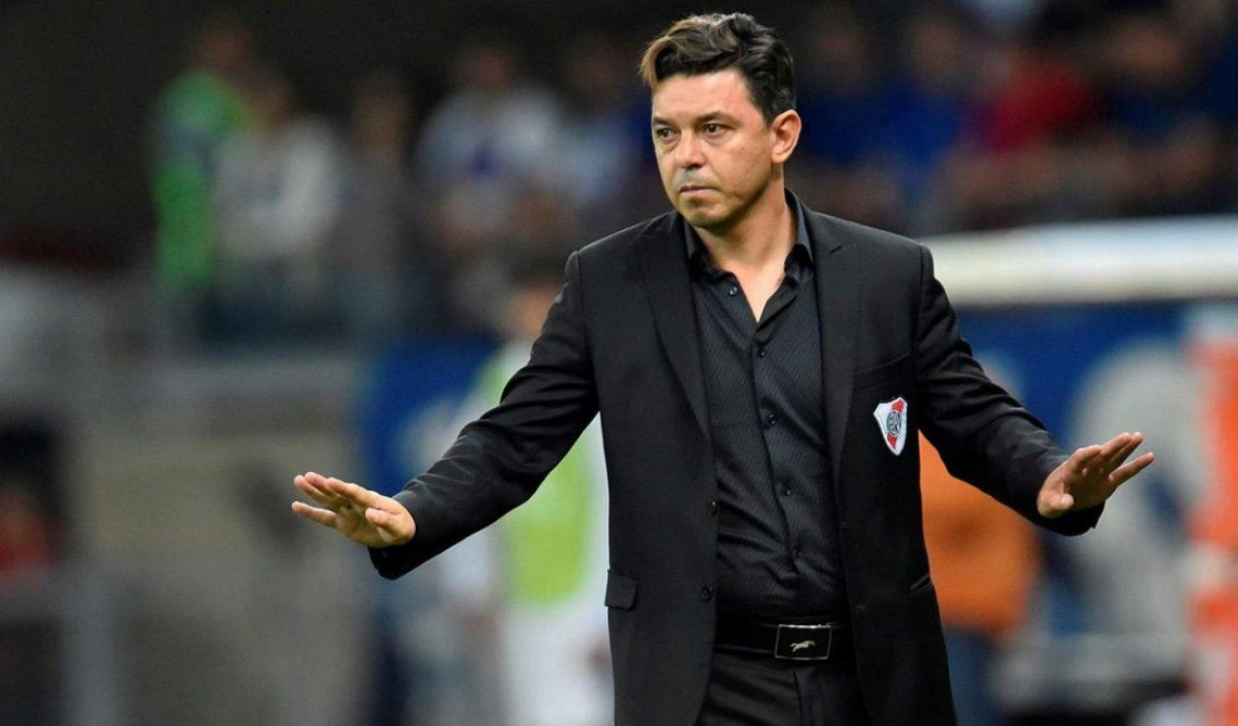 Marcelo Gallardo definirá mañana el equipo para enfrentar a San Lorenzo