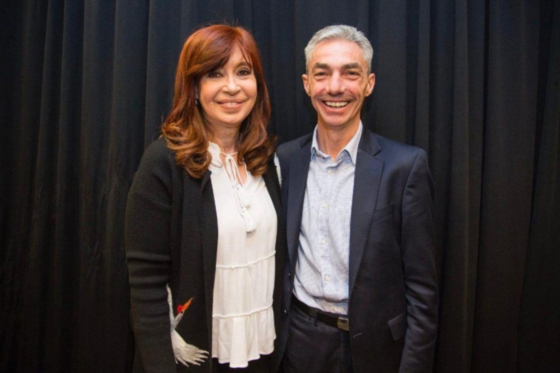 Cristina Kirchner manifestó su pesar por la muerte de Mario Meoni