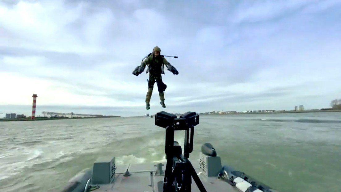 Países Bajos: militares prueban un traje volador a lo Iron Man