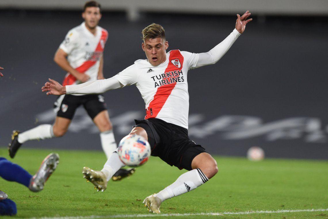 Federico Girotti entró desde el banco y volvió a marcar.