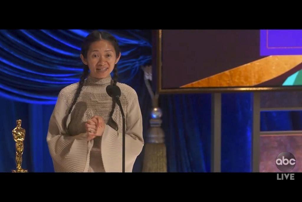 Oscars 2021: Chloé Zhao es la segunda mejor directora de la historia.