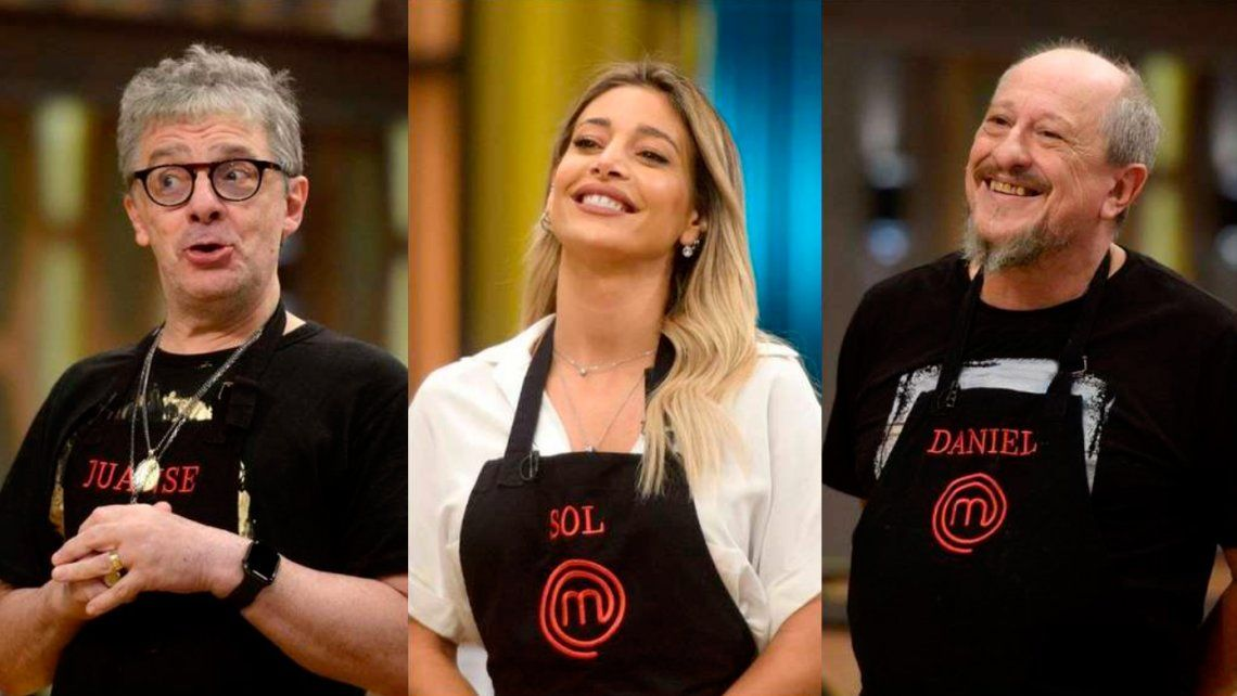 Sol Pérez, Daniel Aráoz y Juanse vuelven a MasterChef Celebrity