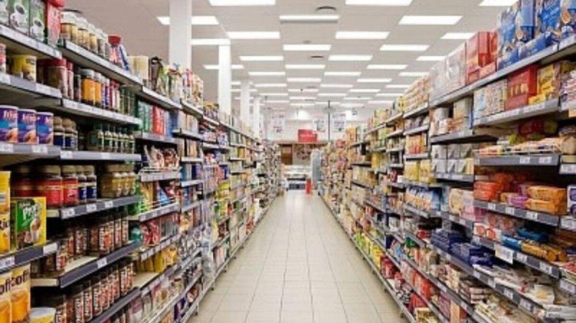 Las ventas en supermercados cayeron en febrero.