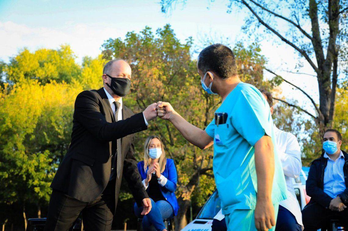 Bono para casi 2000 trabajadores de salud de Lomas