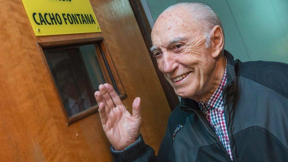 Cacho Fontana tomo con ironía la noticia falsa de su muerte