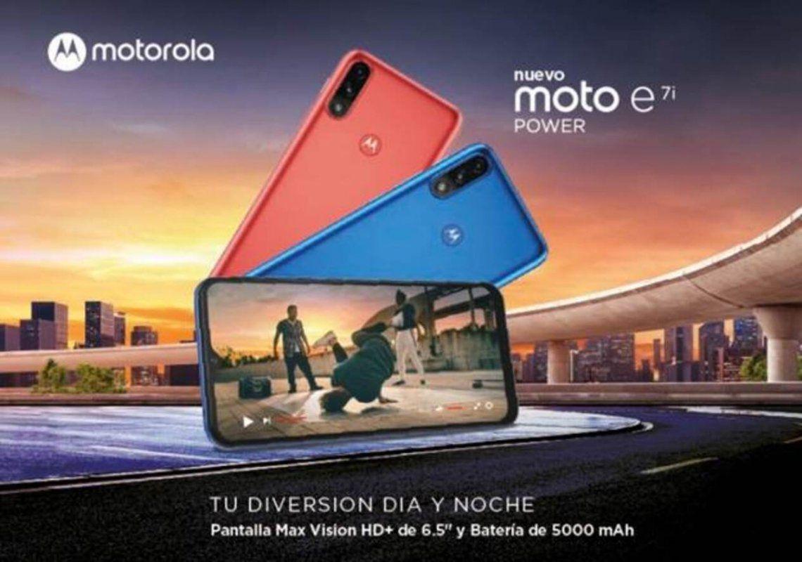 Nuevo Moto e7i Power