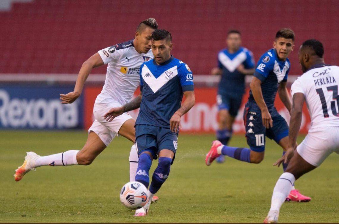 Vélez perdió 3-1 ante la Liga de Quito en la segunda fecha de la Copa Libertadores.
