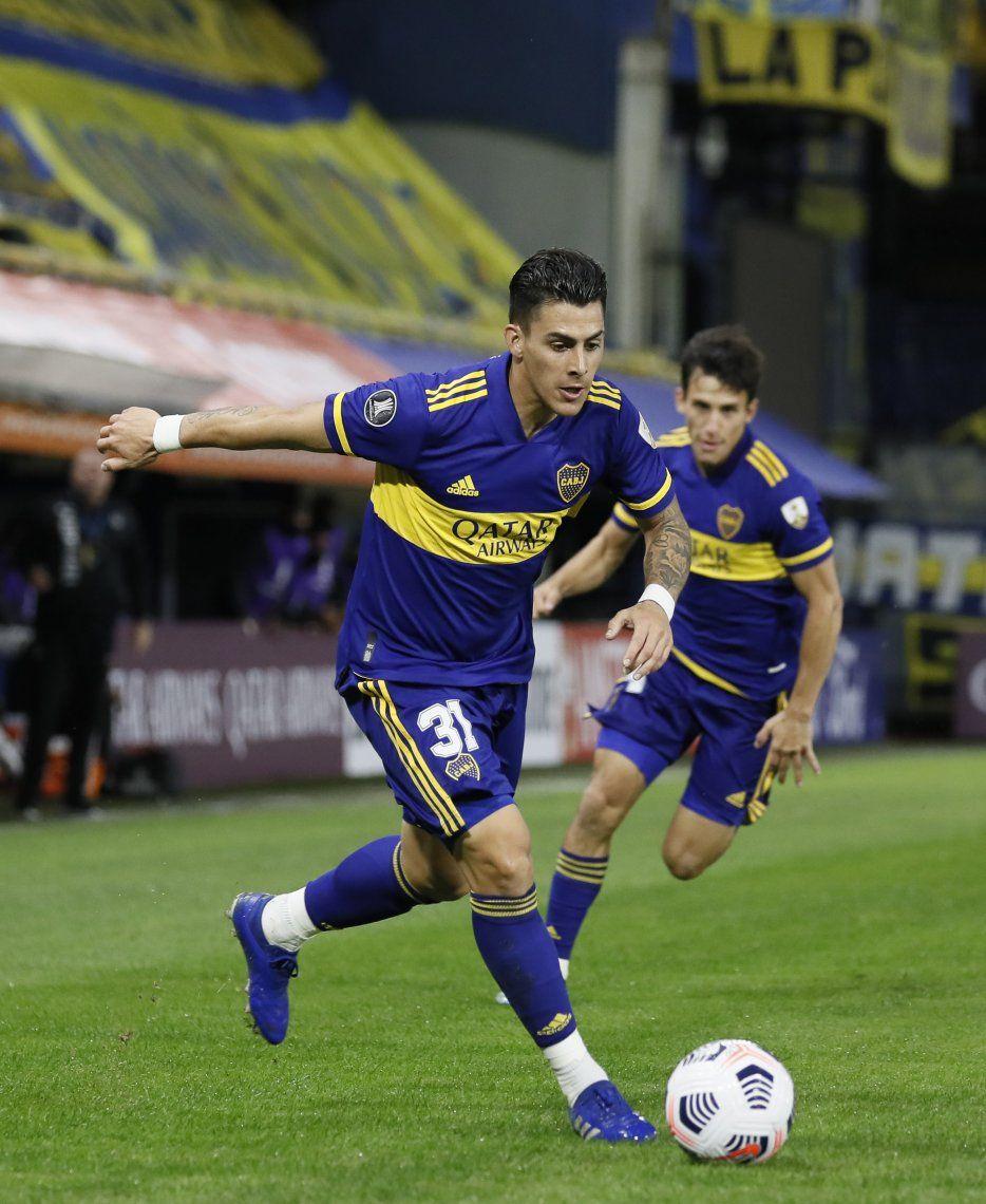 Boca Juniors derrotó a Santos y se consolida cada día más