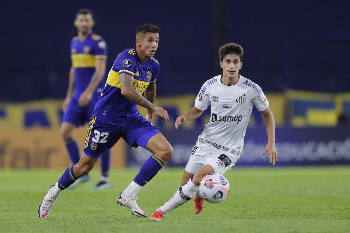 Las mejores fotos del triunfo de Boca ante Santos