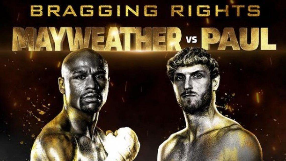 La pelea entre Floyd Mayweather y el YouTuber Logan Paul ya tiene fecha