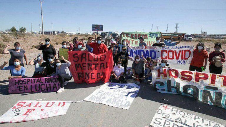 Los trabajadores autoconvocados tendrán una nueva asamblea interhospitalaria en Añelo hoy al mediodía.