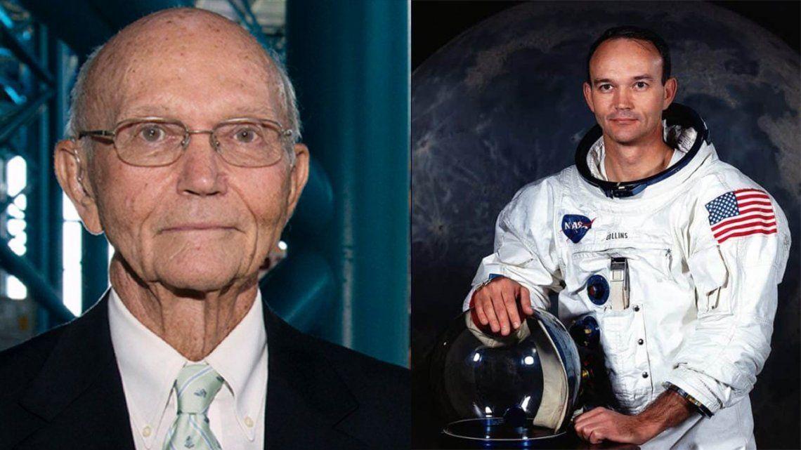Murió el astronauta Michael Collins