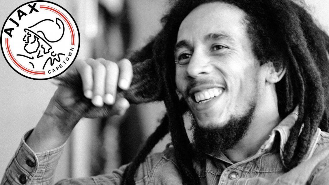 Ajax presentó una camiseta en homenaje a Bob Marley.