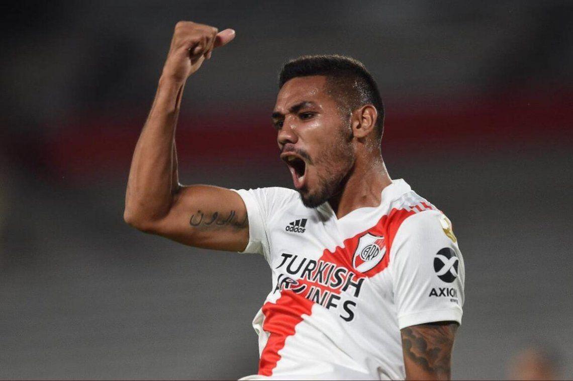 River venció de local 2-1 a Junior por la Copa Libertadores.