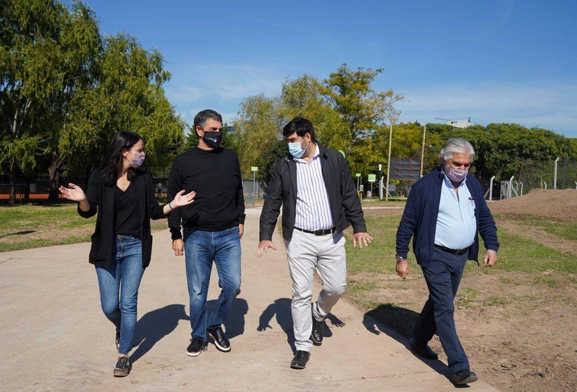 Renovación integral del Paseo de los Vientos en Vicente López