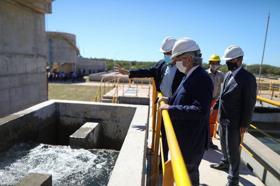 El acueducto de El Impenetrable permitirá abastecer de agua potable a varias localidades de la zona.