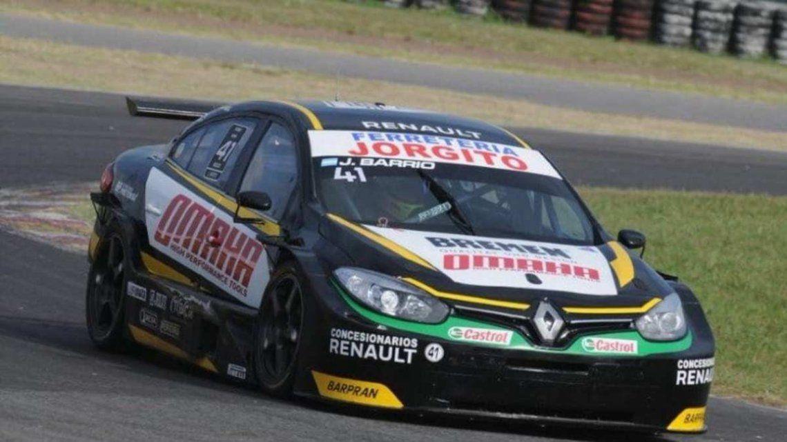 Jorge Barrio lidera el campeonato de TC 2000