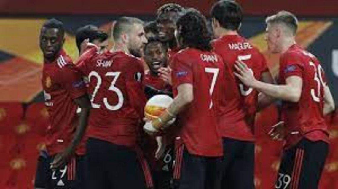 Manchester United y Villarreal ganaron en la ida
