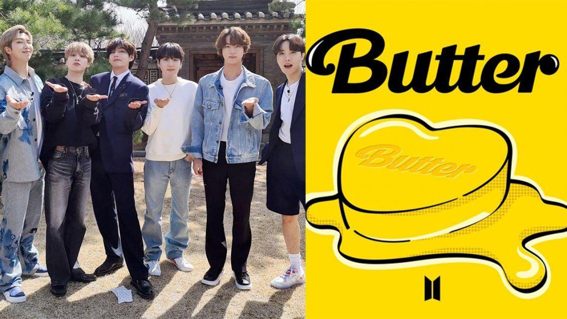 BTS publica un vídeo de una hora con manteca derritiéndose para promocionar su nuevo tema.