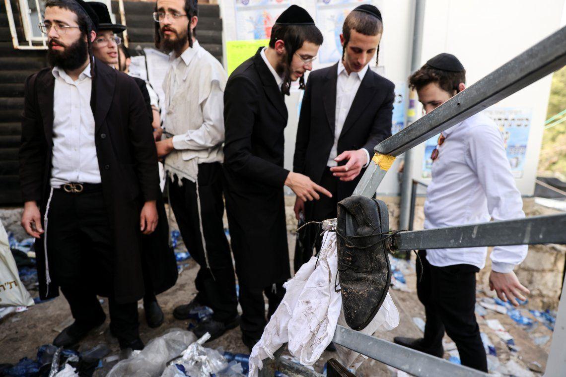 Israel: las fotos de la tragedia en el monte Merón