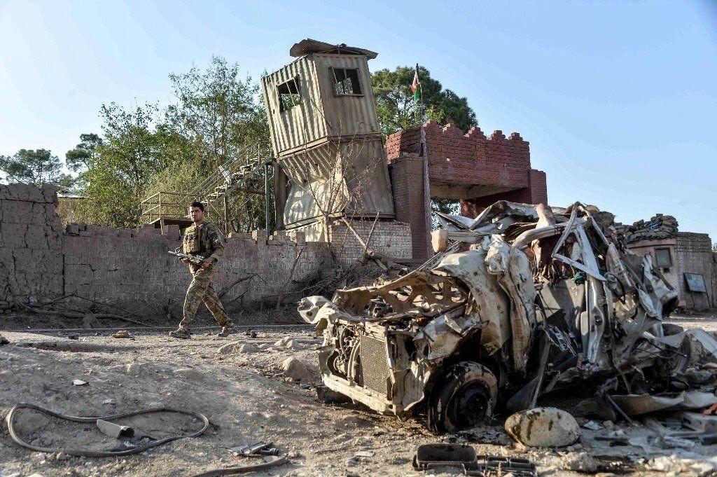 Afganistán: explotó un coche bomba.