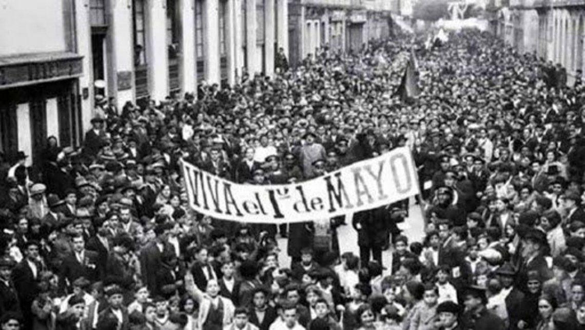 Dia del Trabajador: La primera celebración en la Argentina