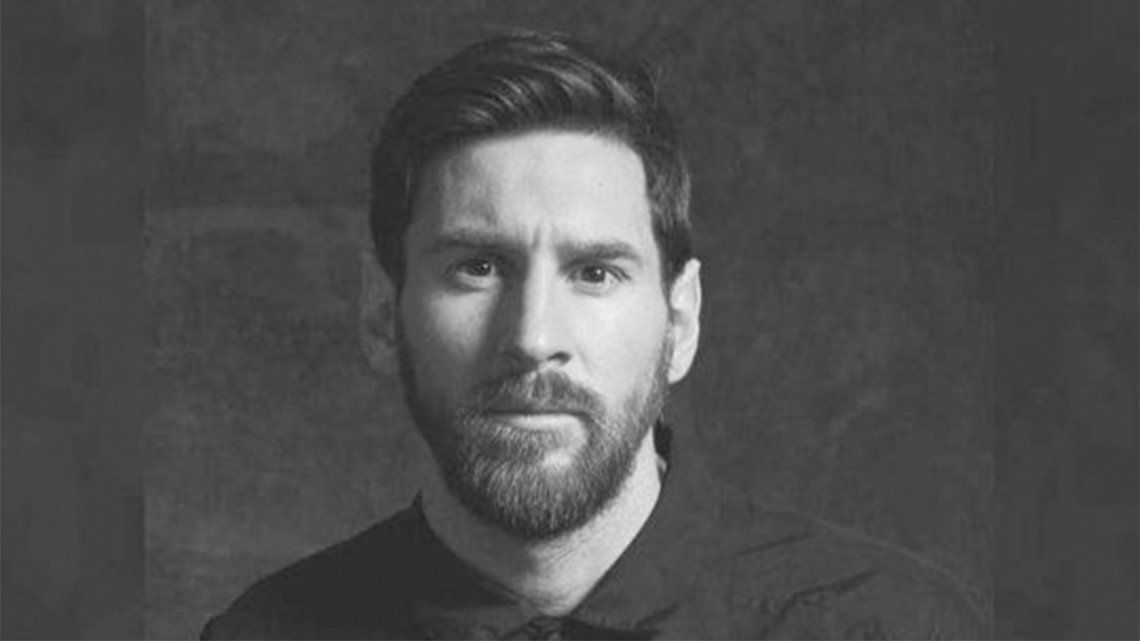 Lionel Messi y un mensaje en contra del abuso en las redes sociales.