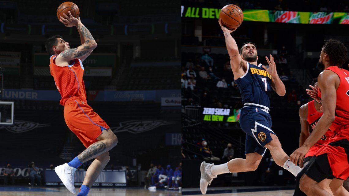 NBA: Campazzo y Deck tendrán acción en la noche del sábado.