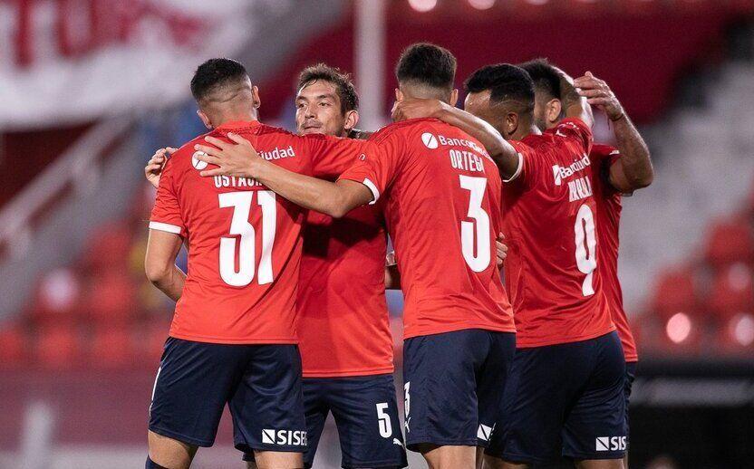 Independiente viene de ganar en la Sudamericana.