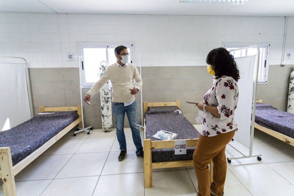 Más camas extra hospitalarias para el NIDO de Monte Chingolo